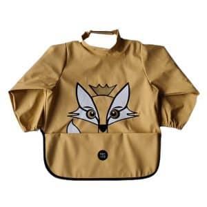 Long Sleeve Bib – Rudy The Fox New Wheat