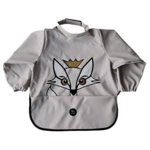 Long Sleeve Bib – Rudy The Fox Rainy Day